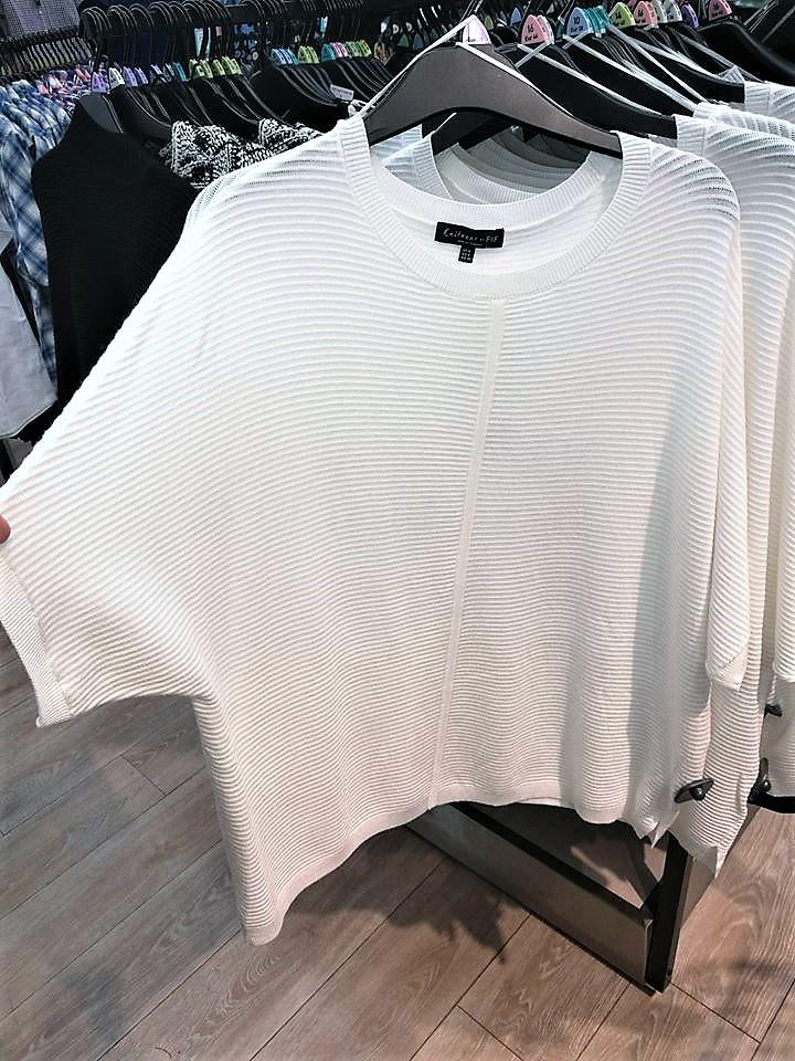f&f white jumper