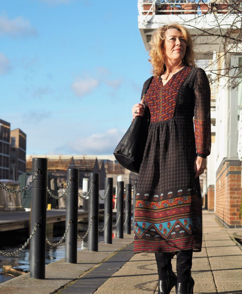 East Uk Marina dress