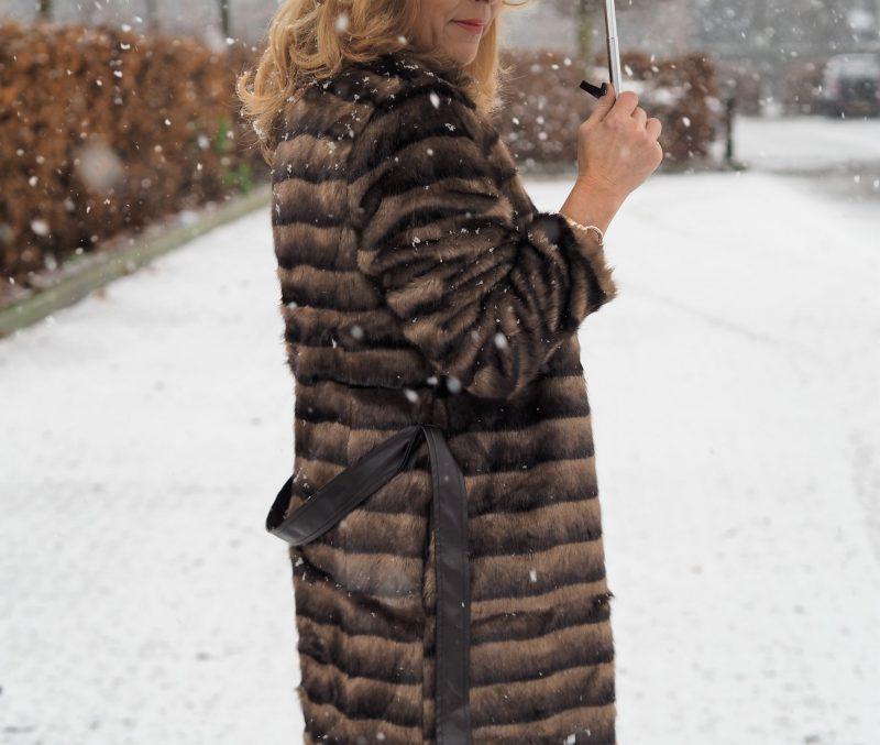 jd williams fur coat