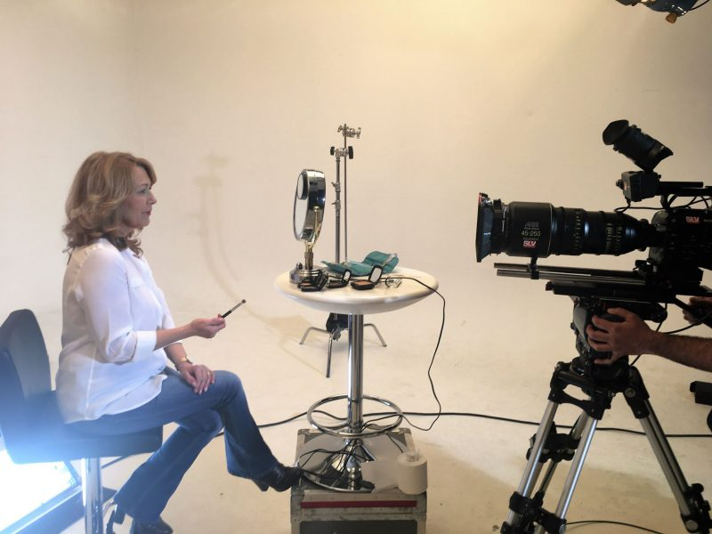 filming with the look fabulous forever brand