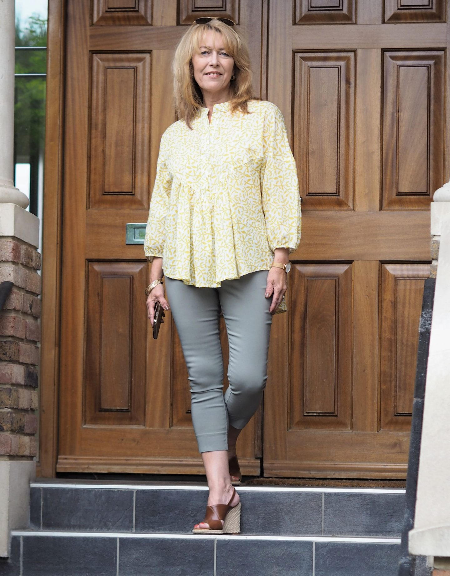 evatrends floral floaty top