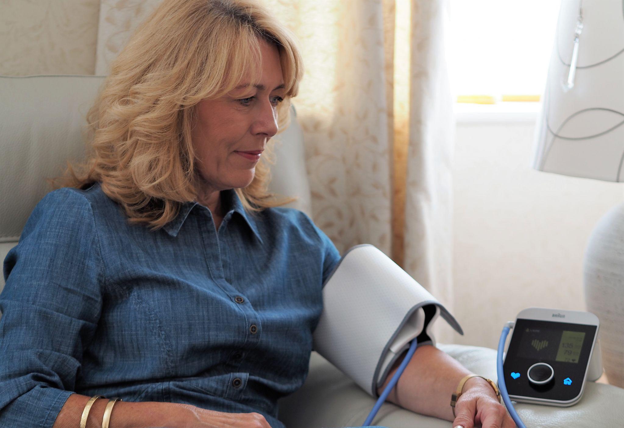 Braun Blood Pressure Moniter