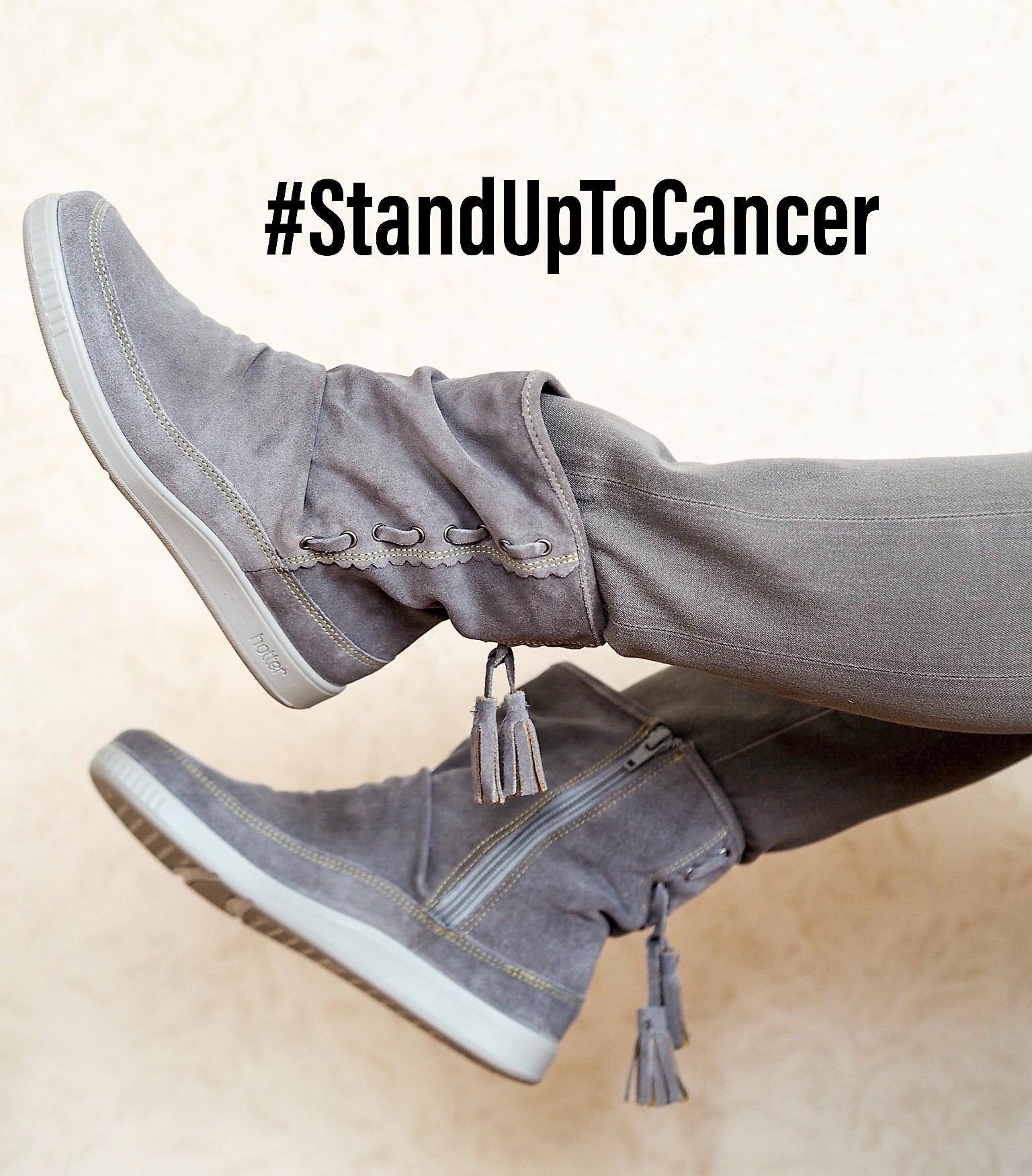 #StandUpToCancer