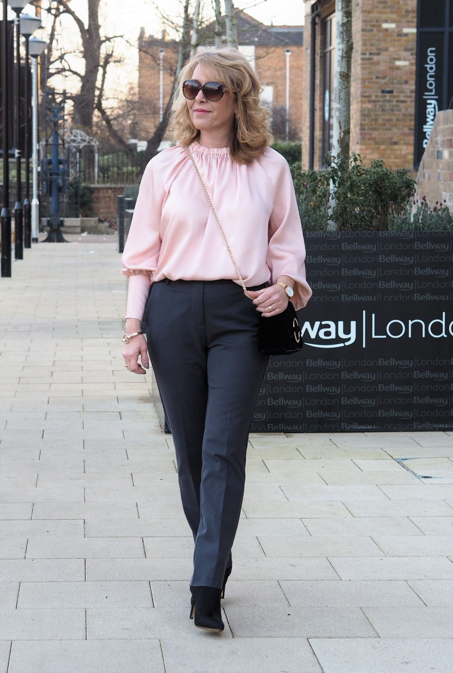 This top is from the Holly Willoughby collection for Marks and Spencer. Every time I open up any of my social media platforms someone is talking about or wearing something from Holly.