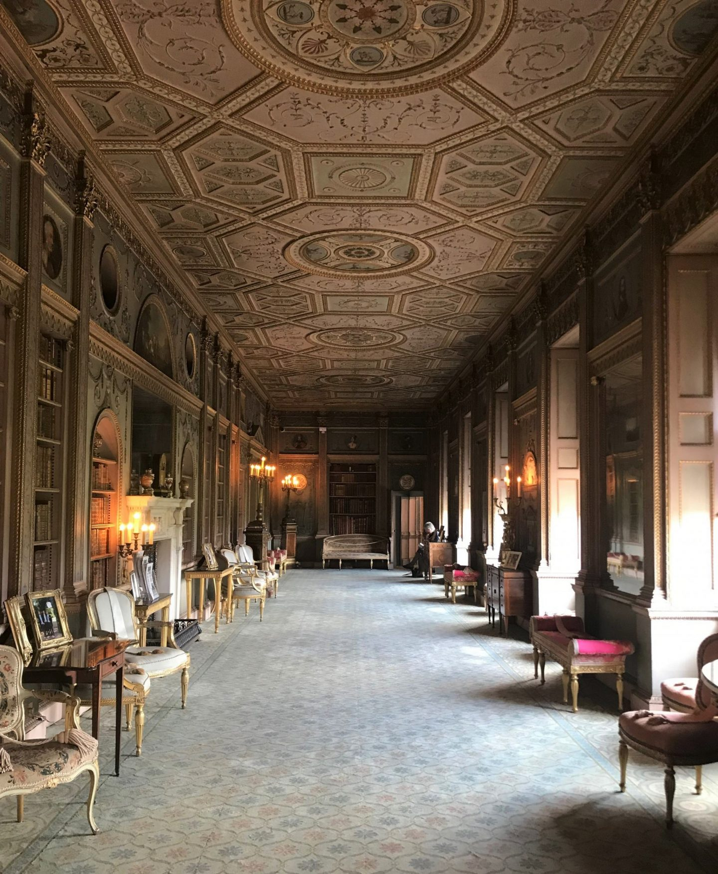 the Syon Park gardens that I often visit has a huge stately home on its grounds and for the last three years that I have visited the gardens, I have never been inside for a nose.