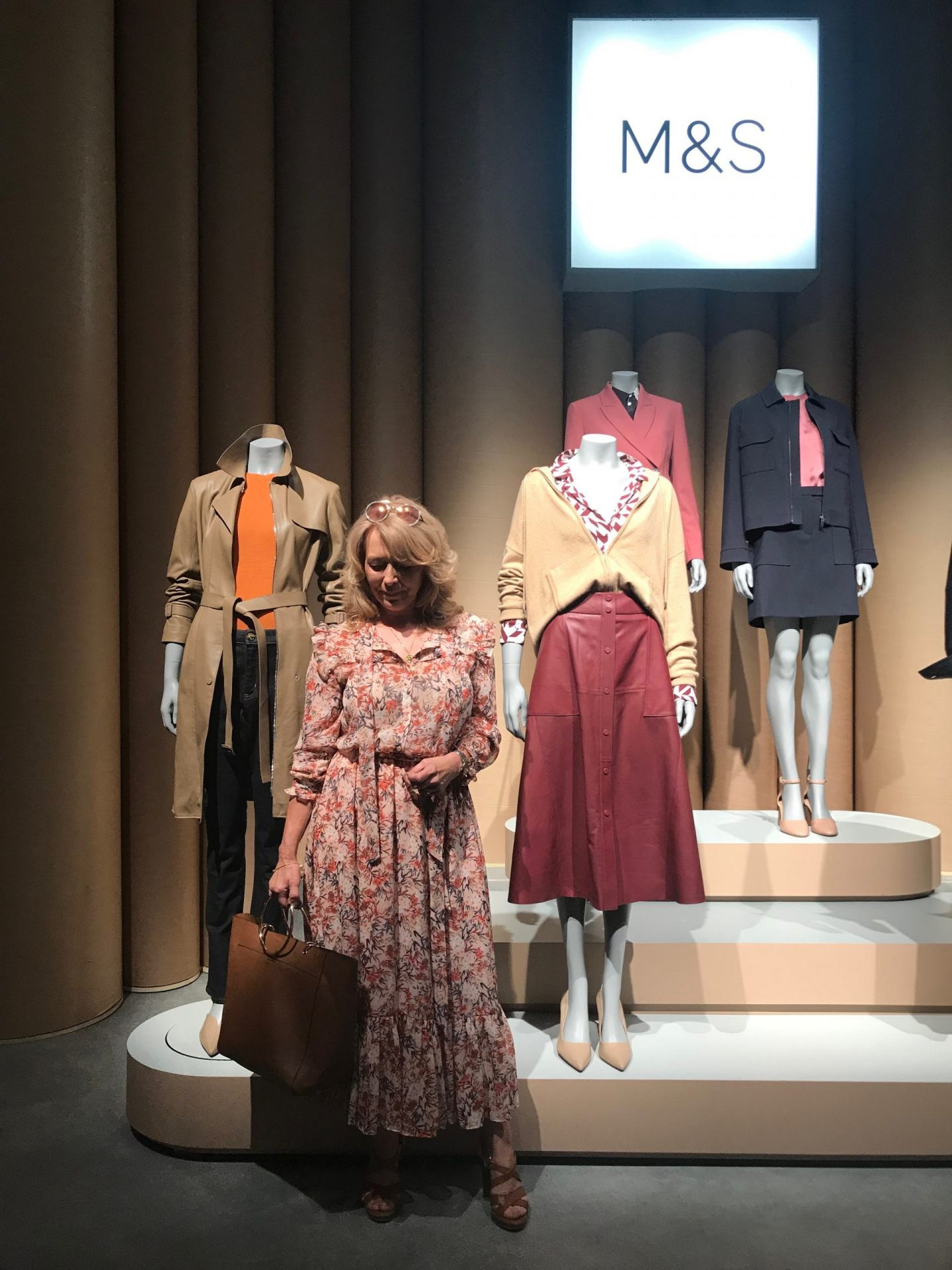 A preview of Marks And Spencer's Autumn Winter collection. I think they've got it in the bag this year. My purse is at the ready! Read on for the preview