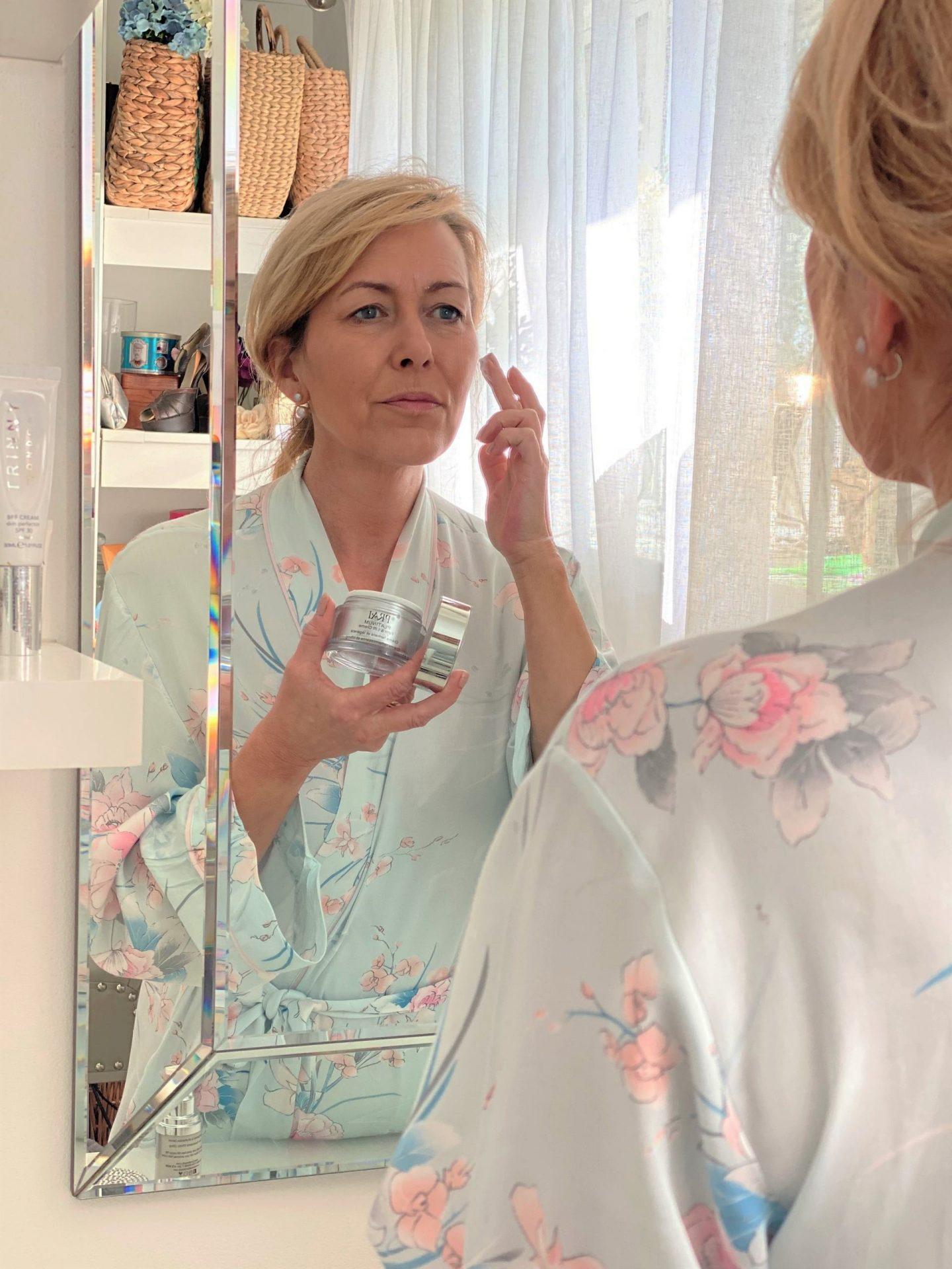 Prai Platinum Skincare Review. Hydrate and Lift - Vanity & Me
